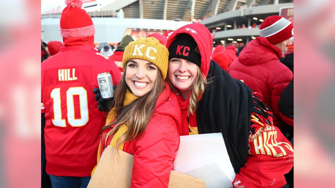 AFC Championship Game Kansas City Chiefs vs New England Patriots at Arrowhead Stadium on January 20, 2019.