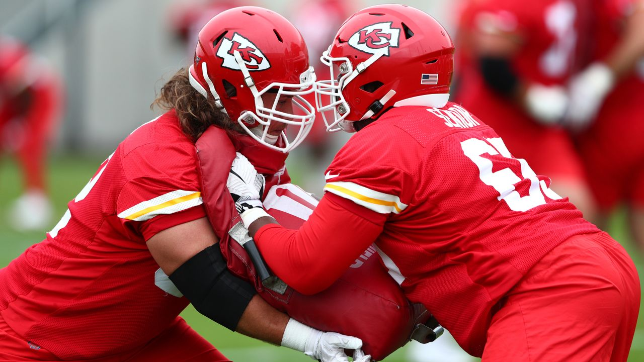 The Kansas City Chiefs participate in day 5 of OTA's.