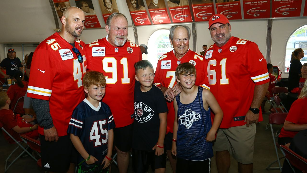 The Kansas City Ambassadors, along with a number of Chiefs Legends, hosted the second-annual Chiefs Legends Community Youth Camp at Arrowhead Stadium on June 5, 2019.