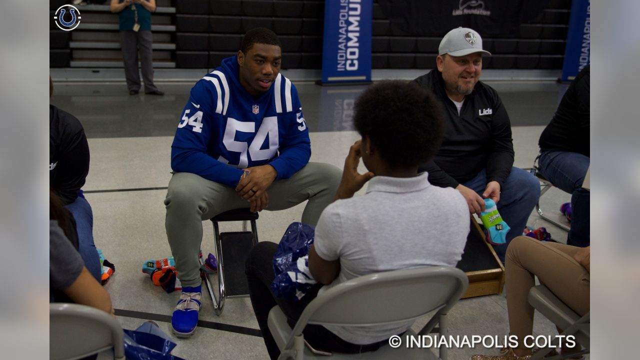 Colts Partner With Lids To Provide Warm Shoes 699f9461a