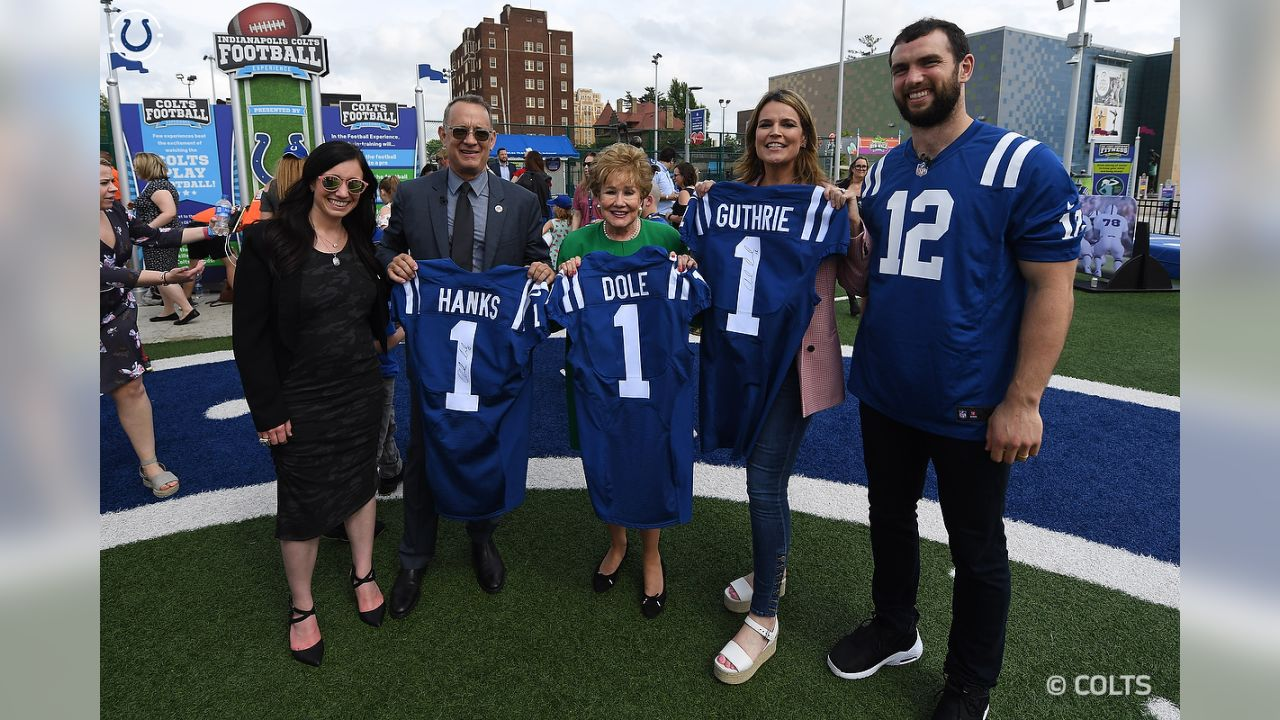 Andrew Luck, Tom Hanks Team Up To Surprise Military Families