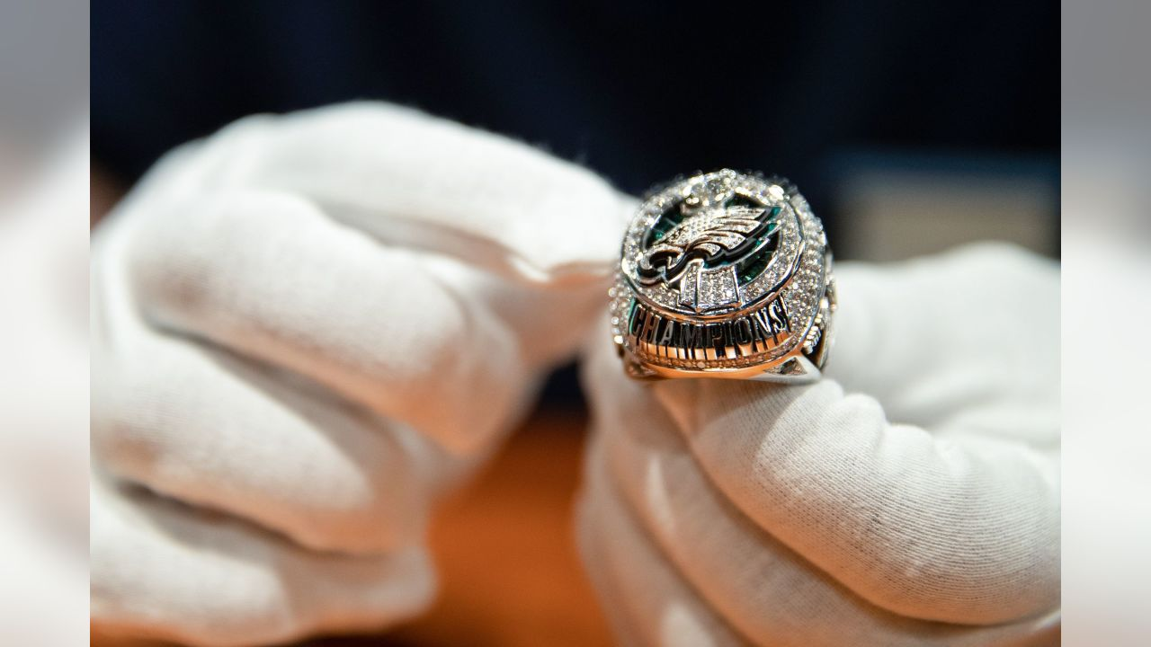 The Philadelphia Eagles Super Bowl LII Ring