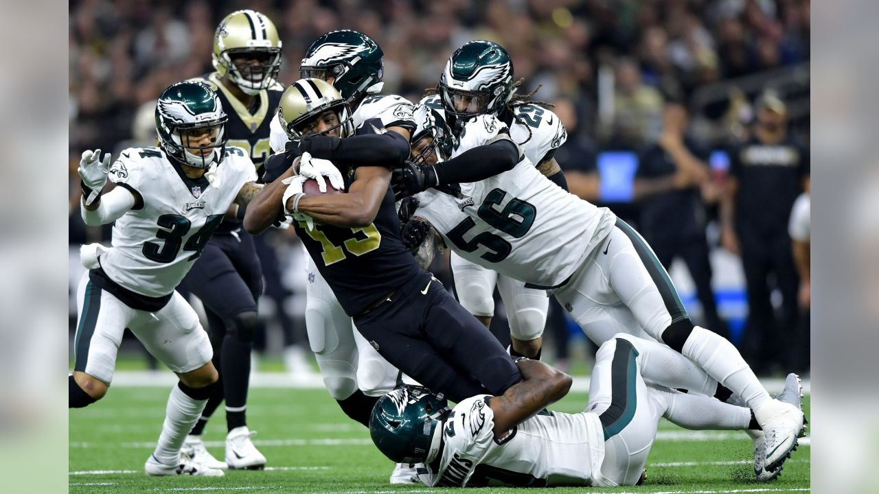 Philadelphia Eagles vs. New Orleans Saints at the Mercedes-Benz Superdome on January 13, 2019