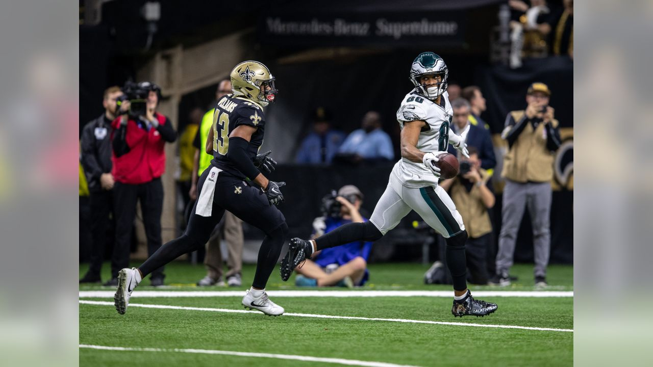 WR Jordan Matthews  Philadelphia Eagles vs. New Orleans Saints at the Mercedes-Benz Superdome on January 13, 2019