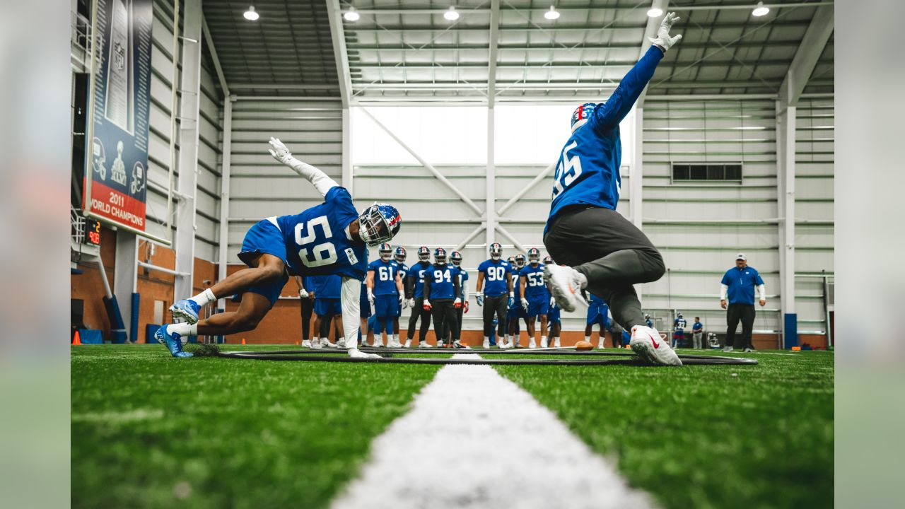 New York Giants OTA #3 at Quest Diagnostics Training Center in East Rutherford, NJ