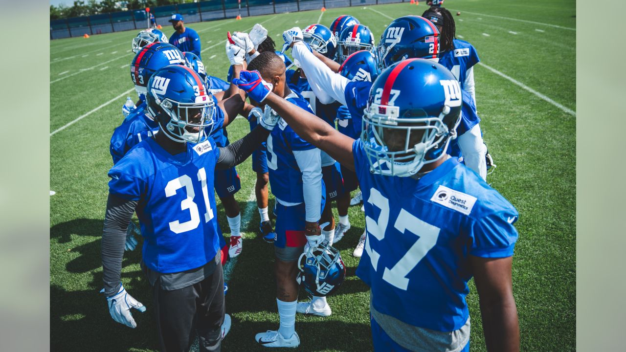 New York Giants OTA #6 at Quest Diagnostics Training Center in East Rutherford, NJ