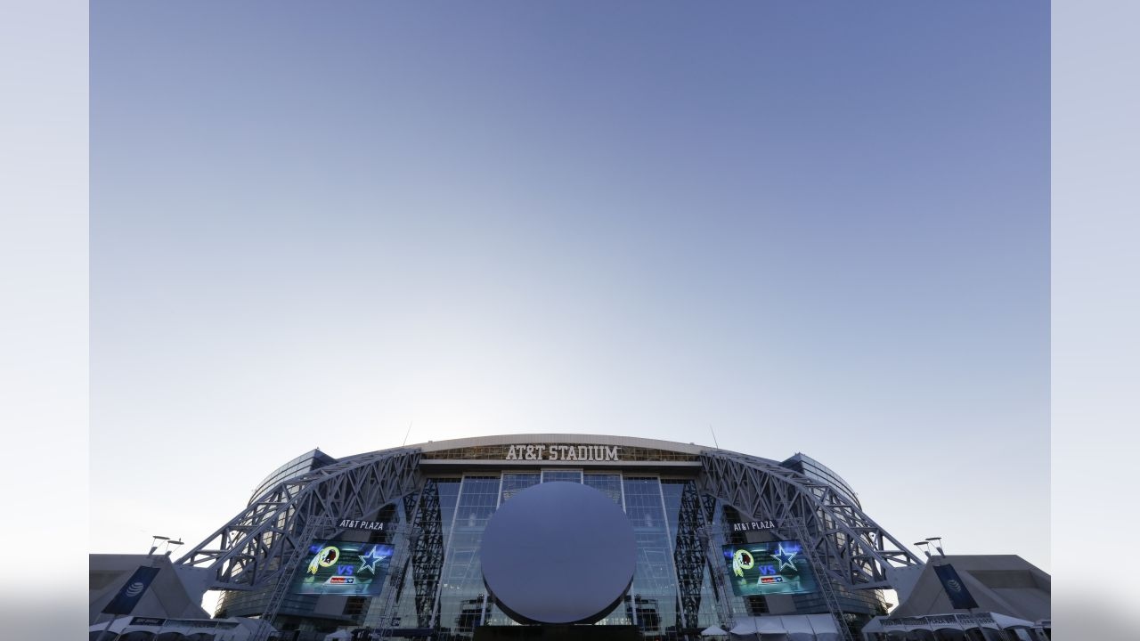 AT&T Stadium - Dallas Cowboys   A general view outside of AT&T Stadium prior to a week 13 NFL football game between the Dallas Cowboys and the Washington Redskins on Thursday, Nov. 30, 2017 in Arlington, Texas. Dallas won 38-14. (Aaron M. Sprecher via AP)
