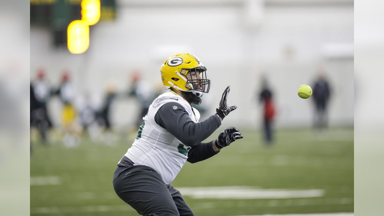 Green Bay Packers during practice on Wednesday, December 12, 2018.