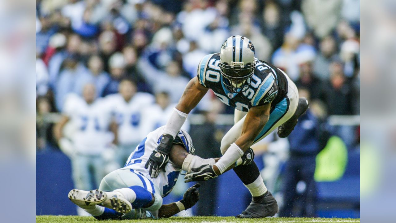 3f8e8f58210 Julius Peppers during a game against the Dallas Cowboys at Texas Stadium on  November 22,