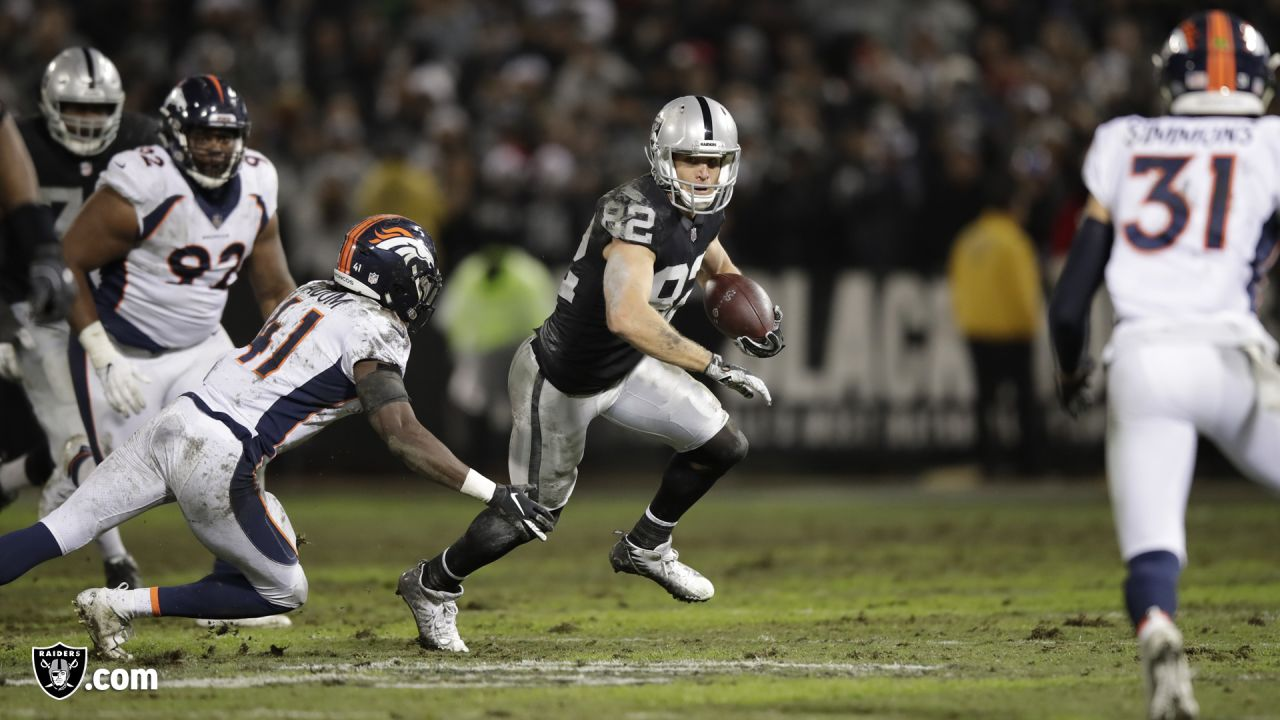 Home game vs. the Denver Broncos - Last meeting at home: December 24, 2018 – Raiders 27, Broncos 14