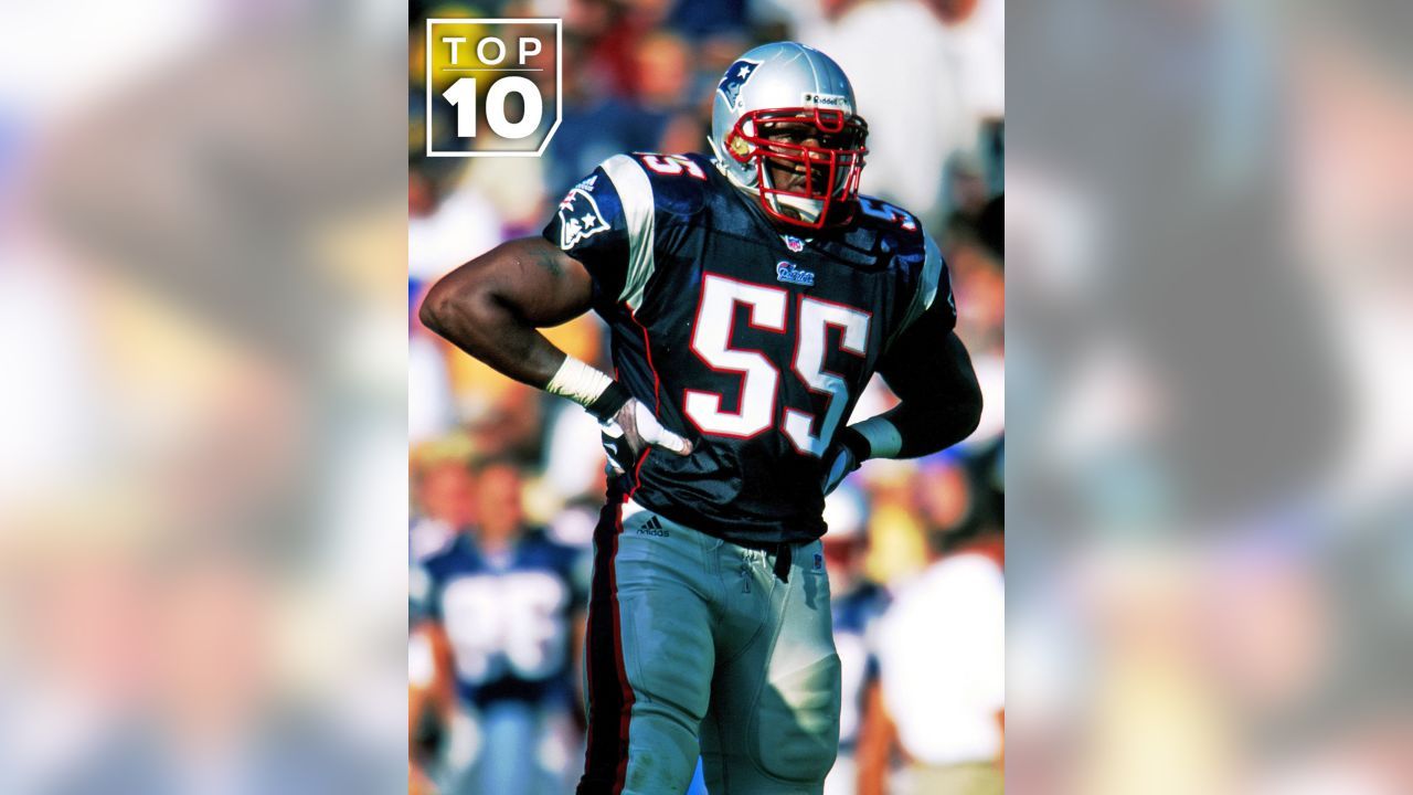 **(10.)** 1994 - DE Willie McGinest, New England Patriots