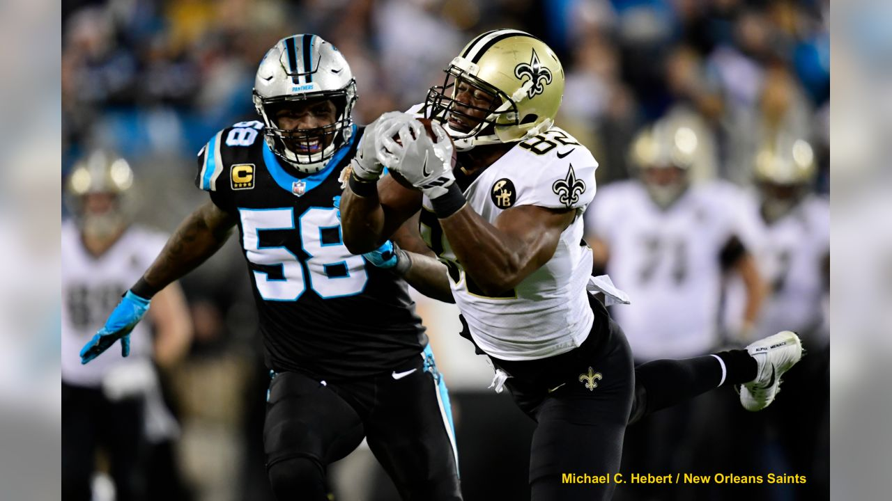 Saints 12 -  Carolina  9     (W)