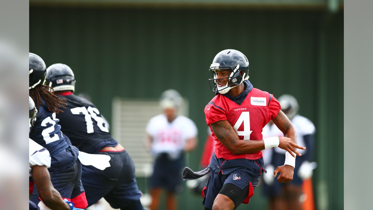 An image from the May 21, 2019 offseason OTA practice at Houston Methodist Training Center in Houston, TX.