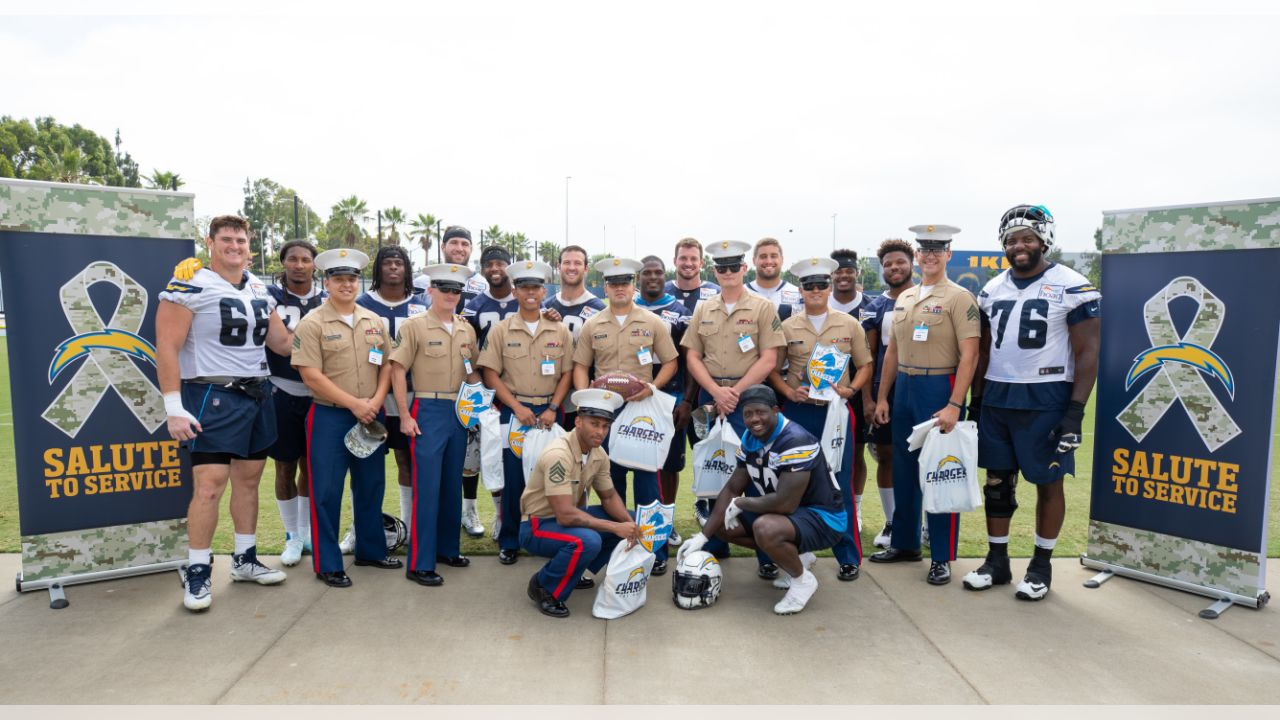 Los Angeles Chargers Boots and Bolts at Hoag Performance Center on Friday, September 28, 2018.