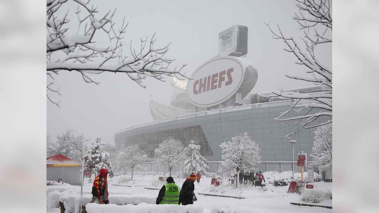 Kansas City Chiefs vs Indianapolis Colts at Arrowhead Stadium on January 12, 2019.