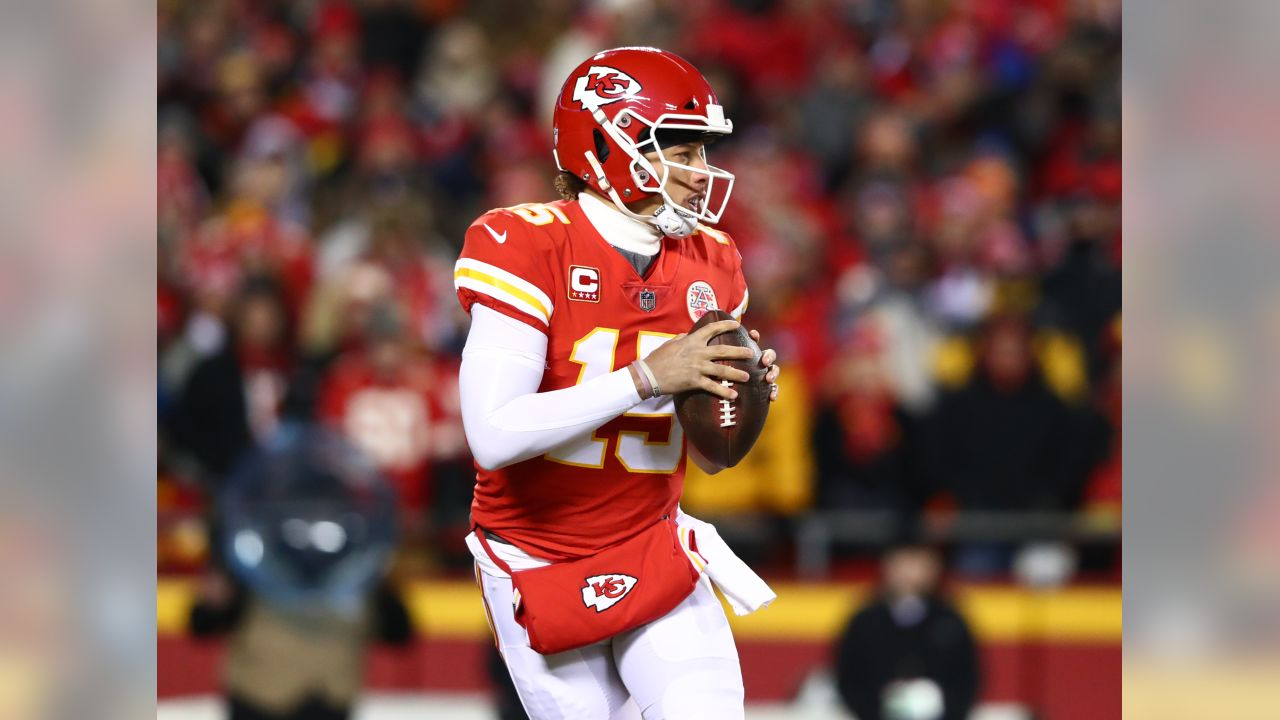 AFC Championship Game Kansas City Chiefs vs New England Patriots at Arrowhead Stadium on January 20, 2019.