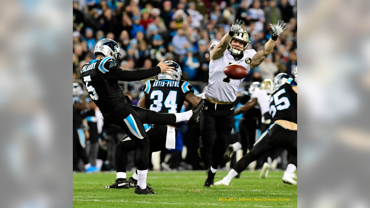 Saints 12 -  Carolina  9     (W)  New Orleans Saints 2018 Season  Michael C.  Hebert
