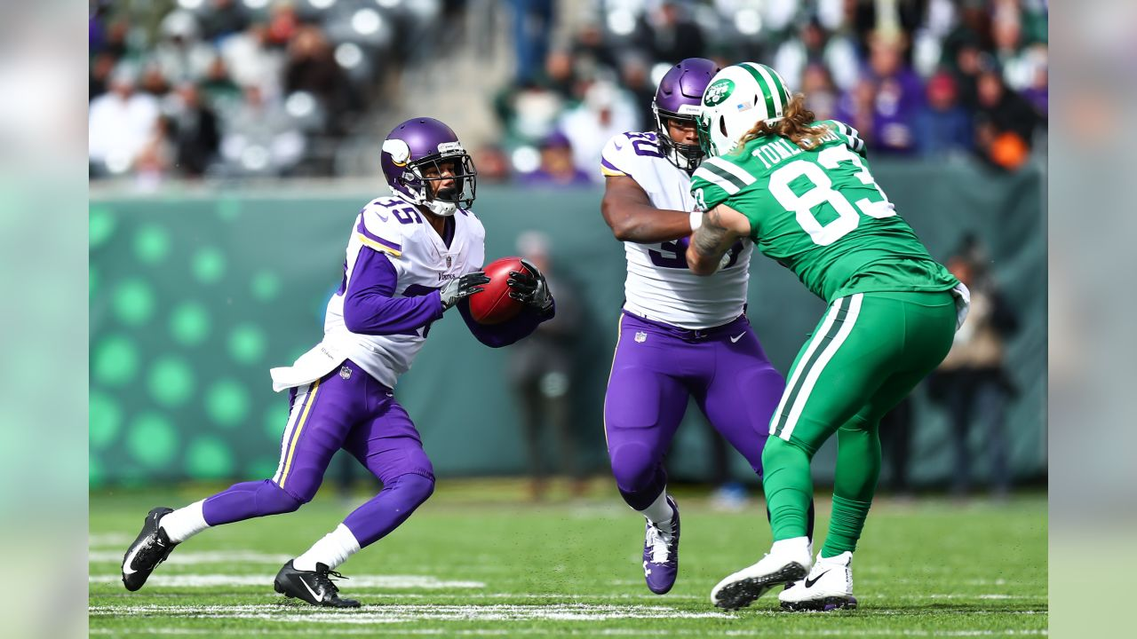 An image from October 21, 2018 regular season away game against the New York Jets. The Vikings won 37-17.