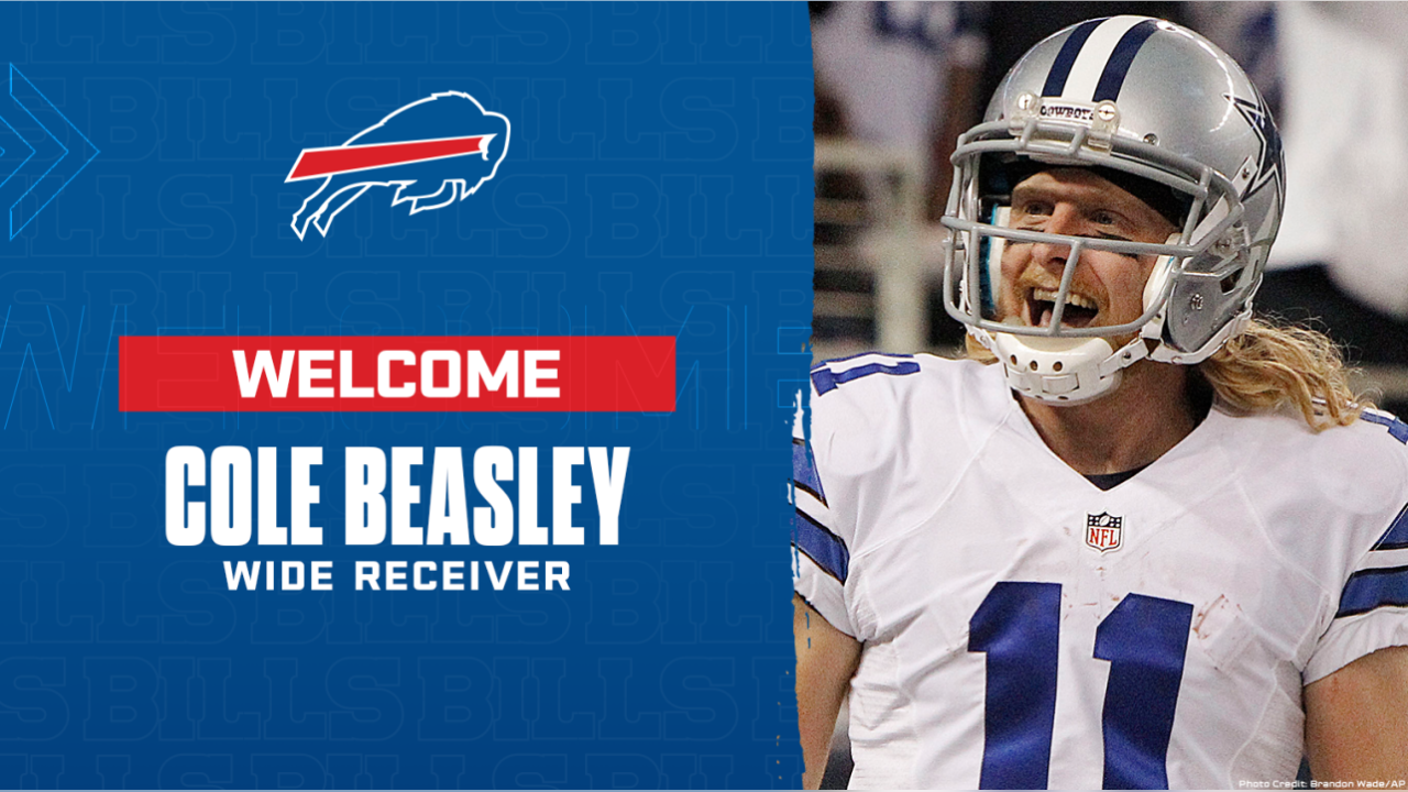 WR Cole Beasley: 5-8, 174 pounds