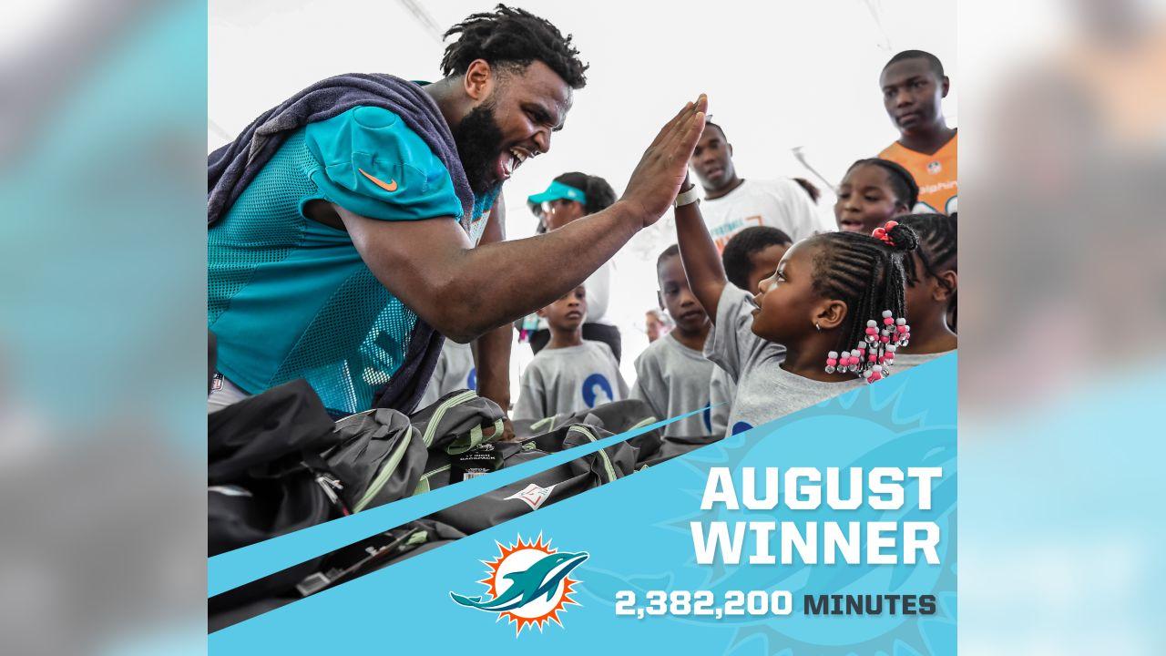 Miami Dolphins - 2,382,200 Minutes