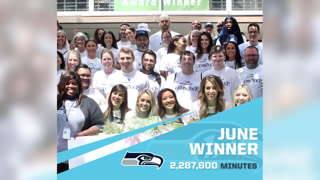 Seattle Seahawks - 2,287,600 Minutes