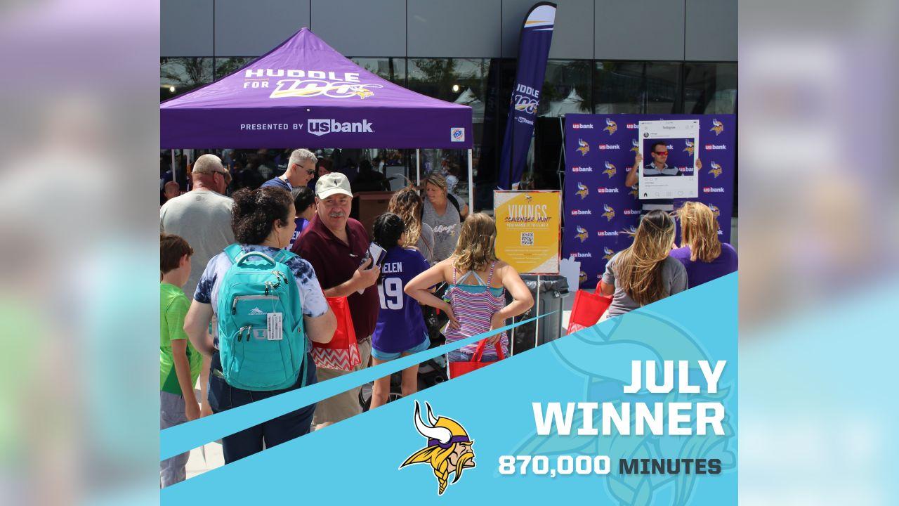 Minnesota Vikings - 870,000 Minutes