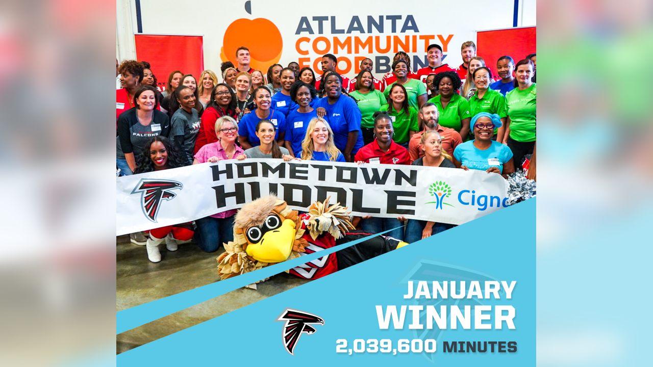 Atlanta Falcons - 2,039,600 Minutes
