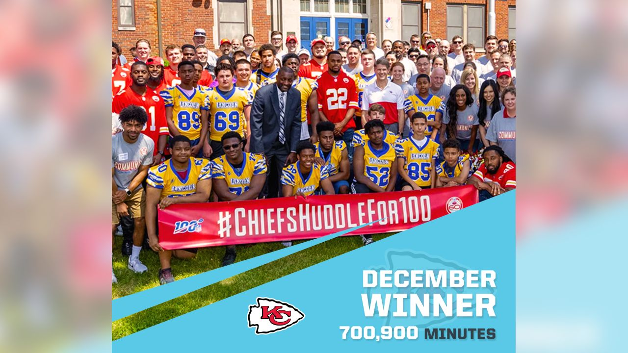 Kansas City Chiefs - 700,900 Minutes
