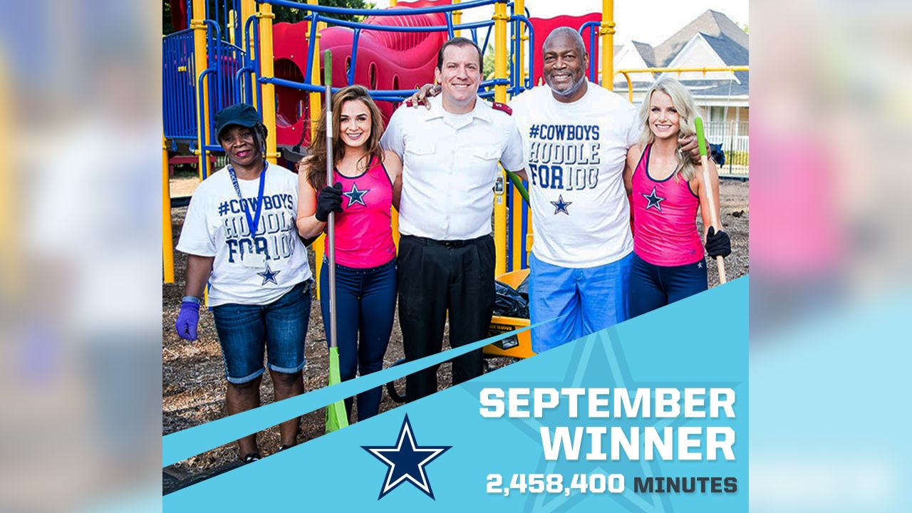 Dallas Cowboys - 2,458,400 Minutes