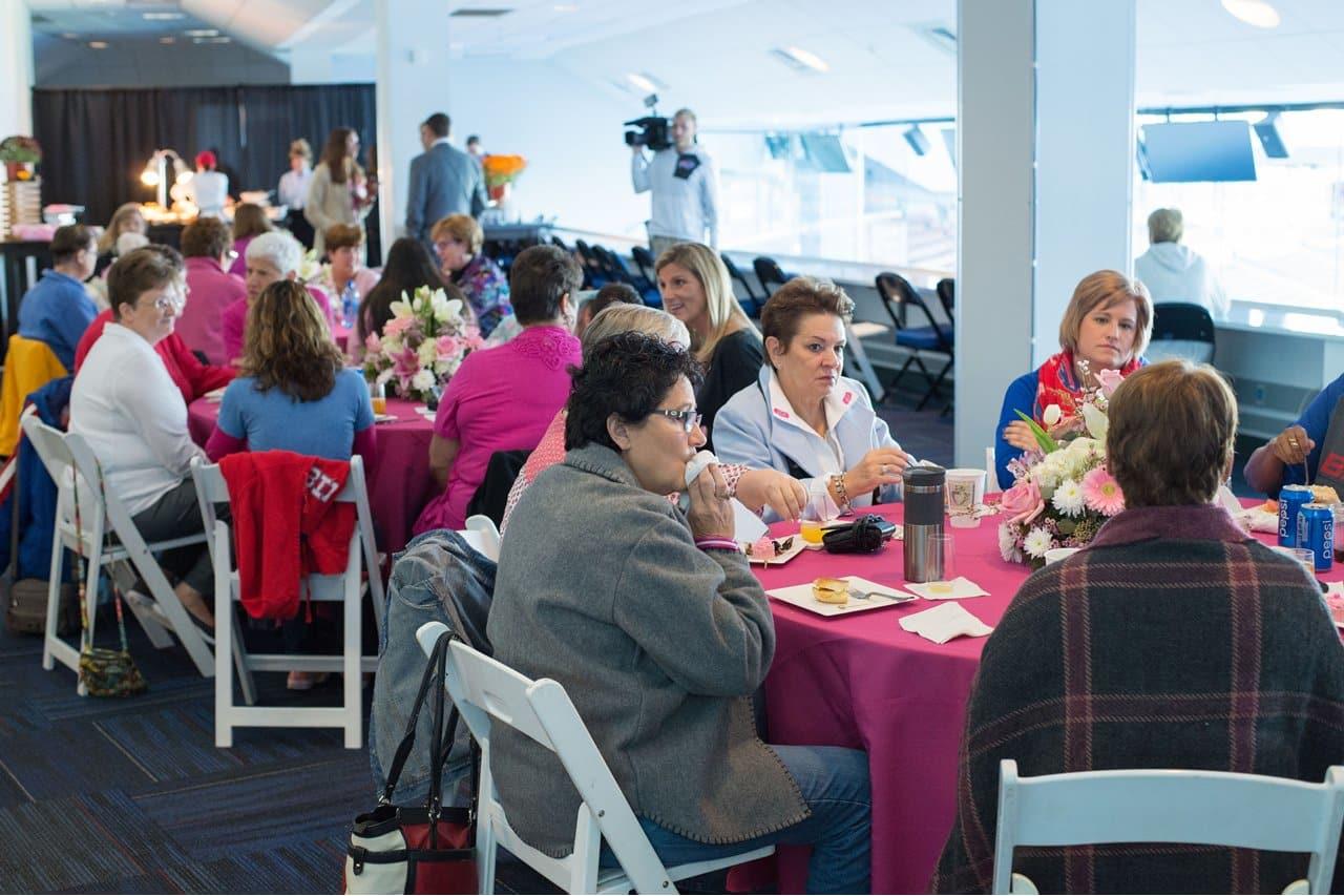images Breast Cancer Survivors Celebrate at Camp