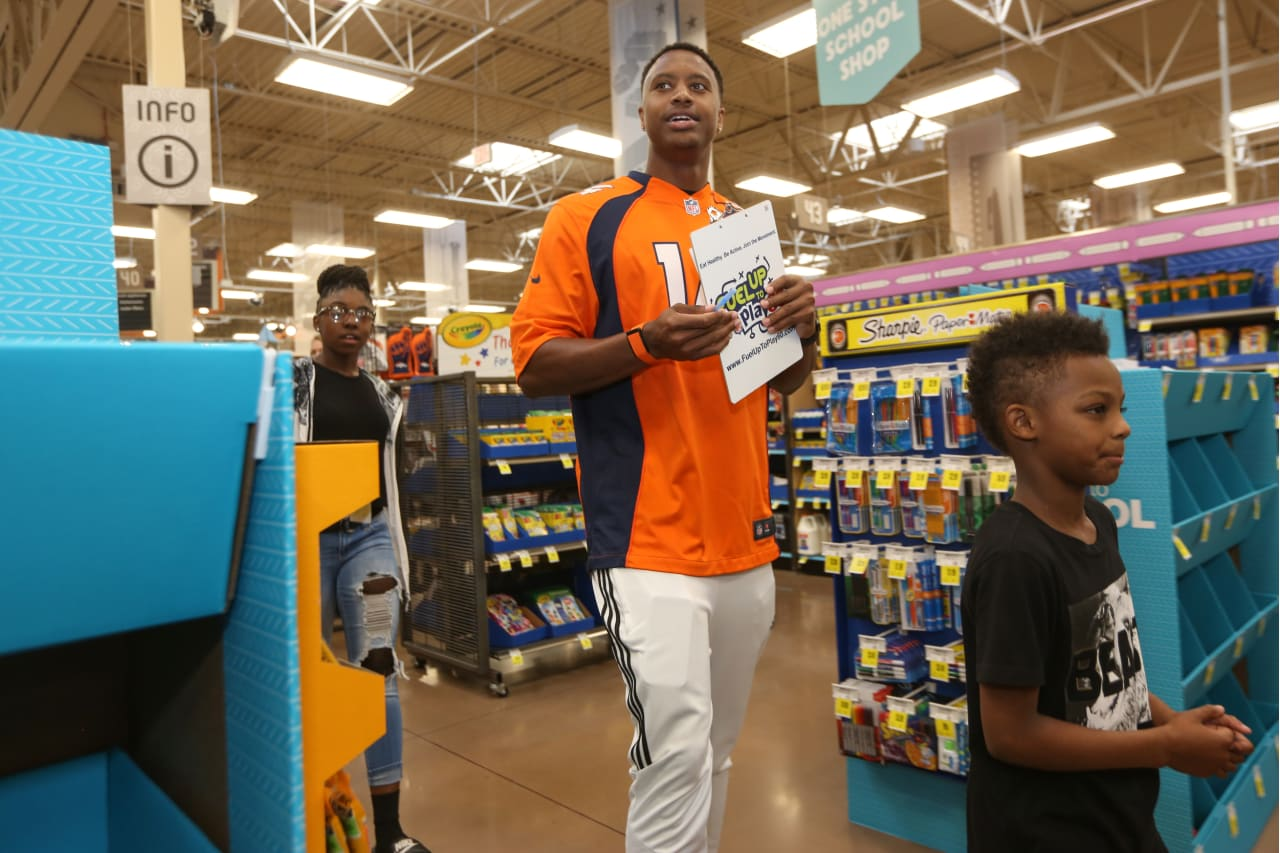 2018 Back To School With The Broncos Takes Kids On King Soopers