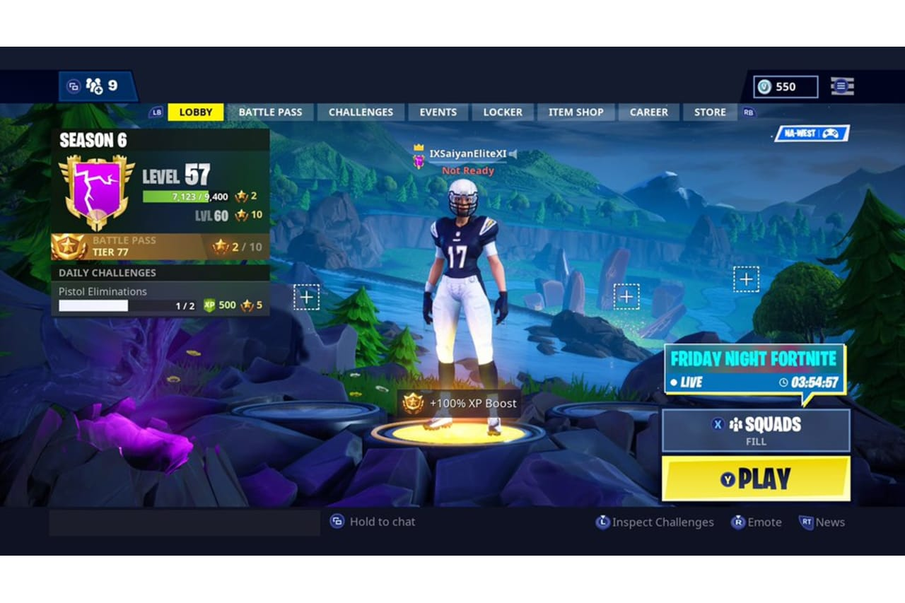 Bolt Fans Rep New Chargers Fortnite Skins