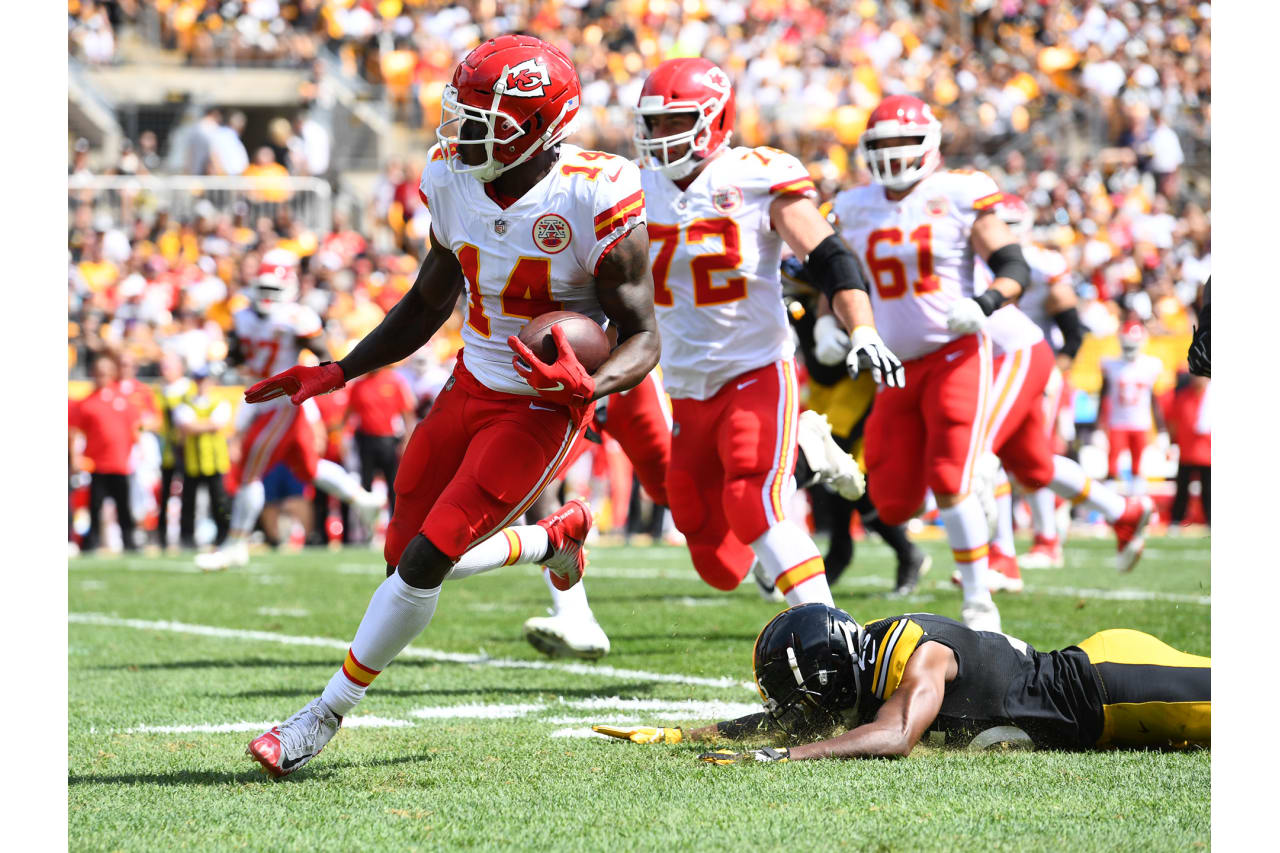 Chiefs at Steelers on September 16, 2018