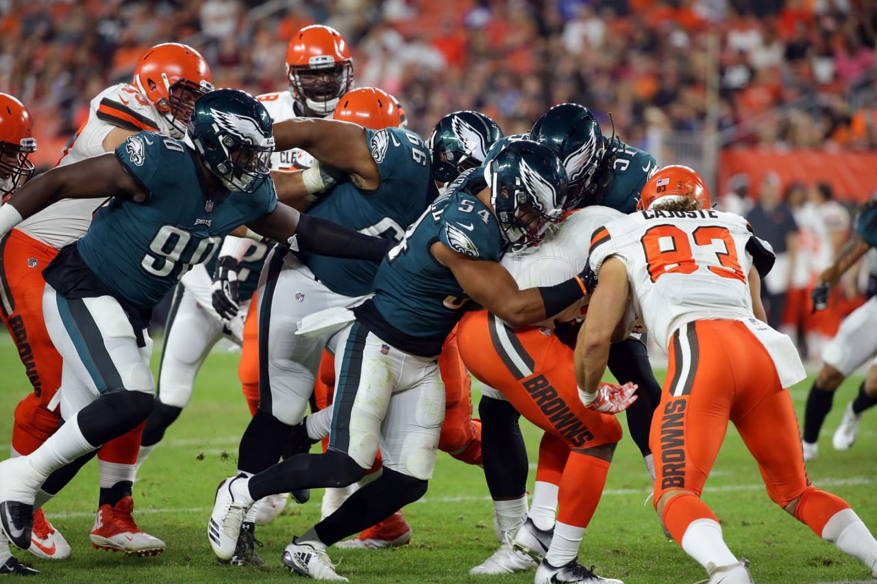 Philadelphia Eagles vs. Cleveland Browns at FirstEnergy Stadium on August 23, 2018