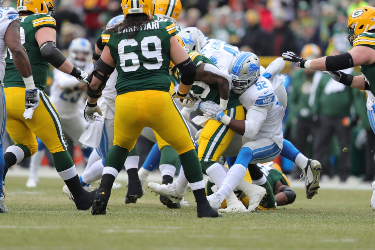 detroit lions at green bay packers game photos