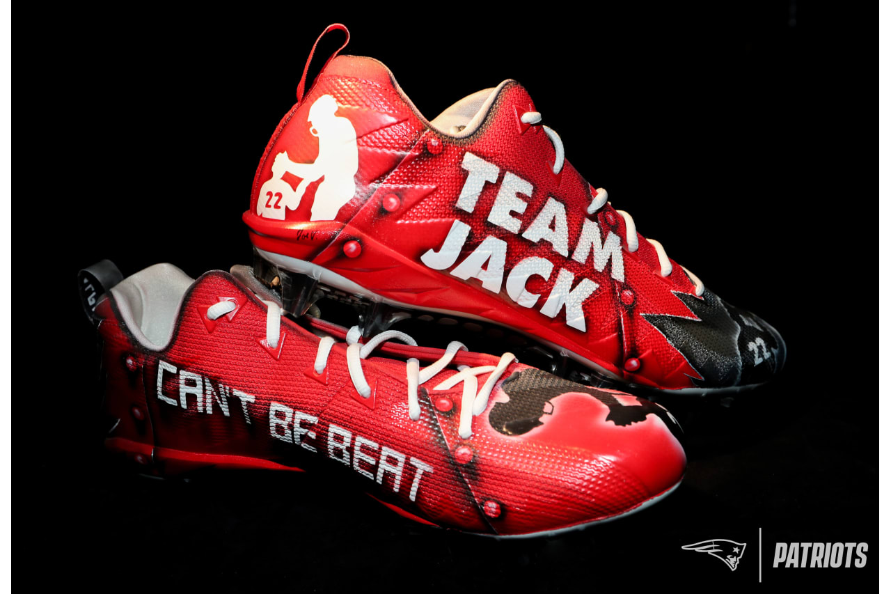 Rex Burkhead - Team Jack Foundation (pediatric brain cancer awareness).