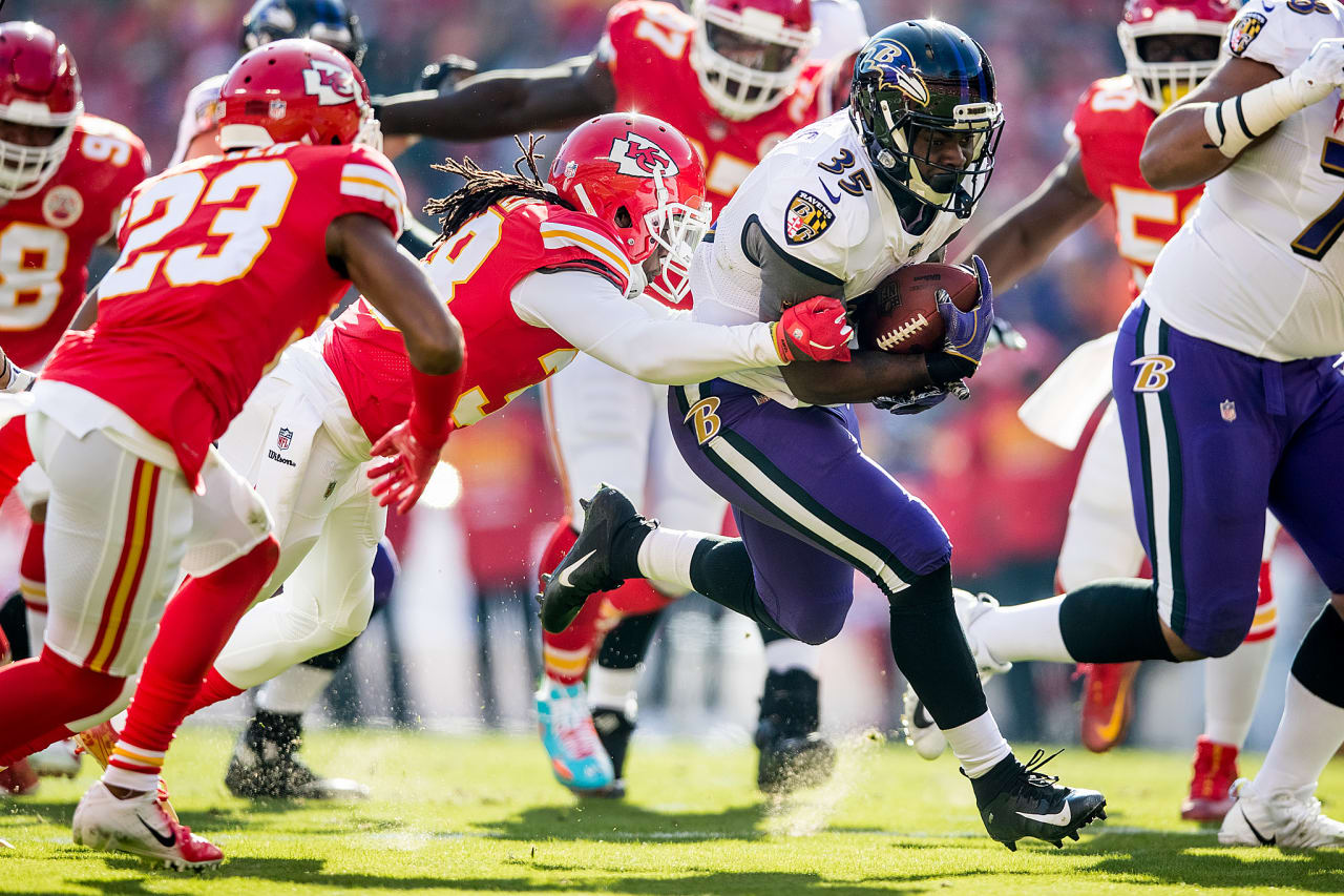 The Baltimore Ravens were defeated by the Kansas City Chiefs by a score of 27-24 at Arrowhead Stadium on December 9, 2018 in Kansas City, MO.