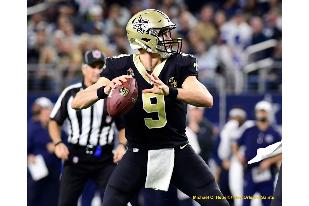 Cowboys 13- Saints 10 (L) New Orleans Saints 2018 Season Michael C.  Hebert