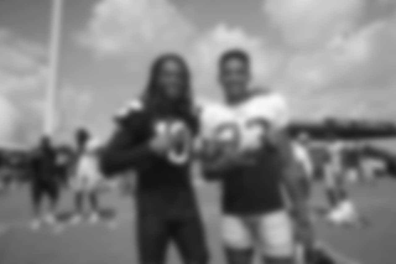 Houston Texans WR DeAndre Hopkins and CB Ahkello Witherspoon