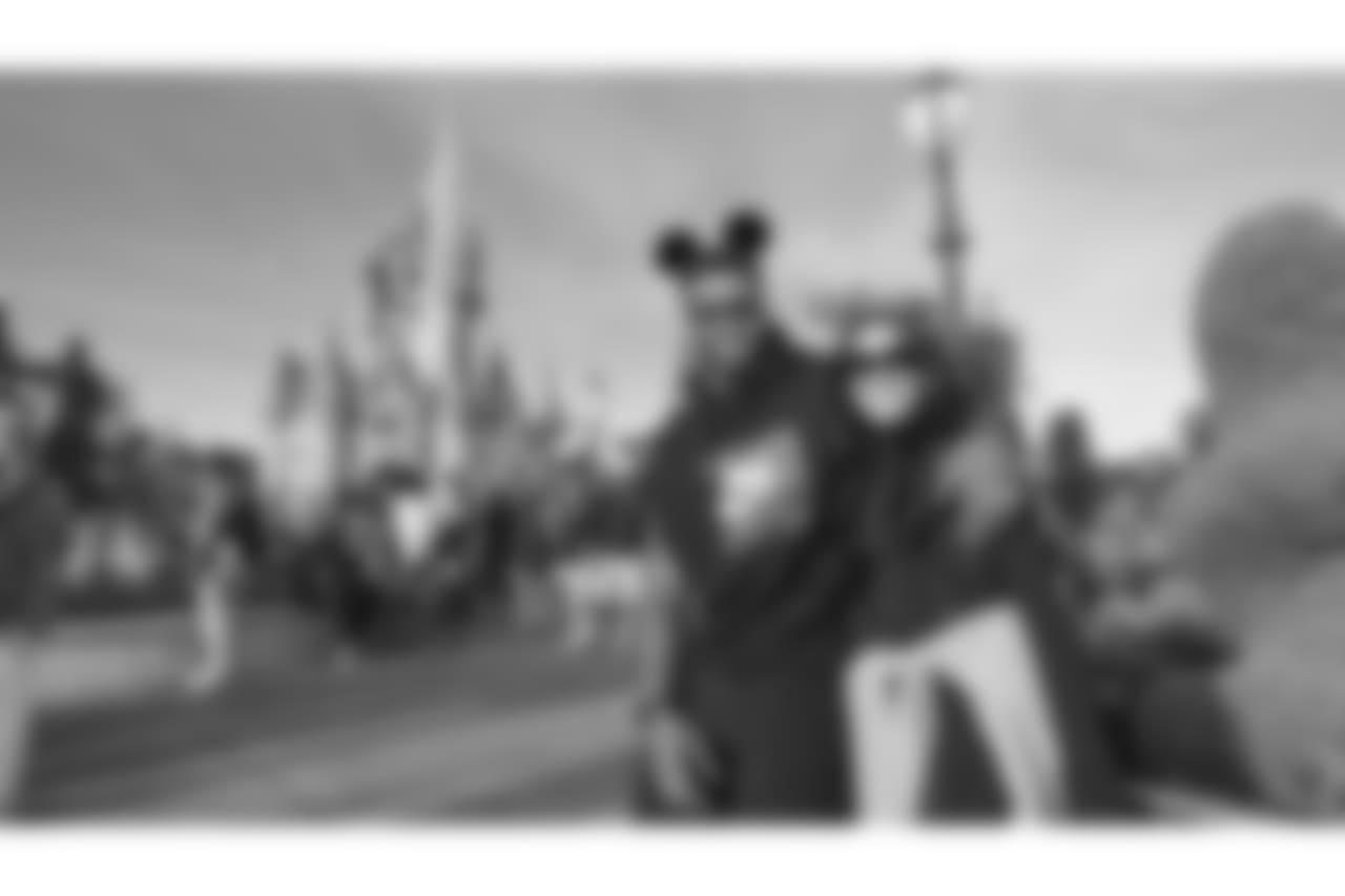 DeForest Buckner Visits Disney World