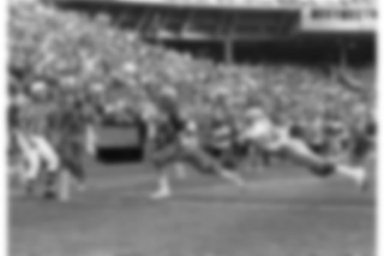 1984 -- 49ers running back Wendell Tyler.