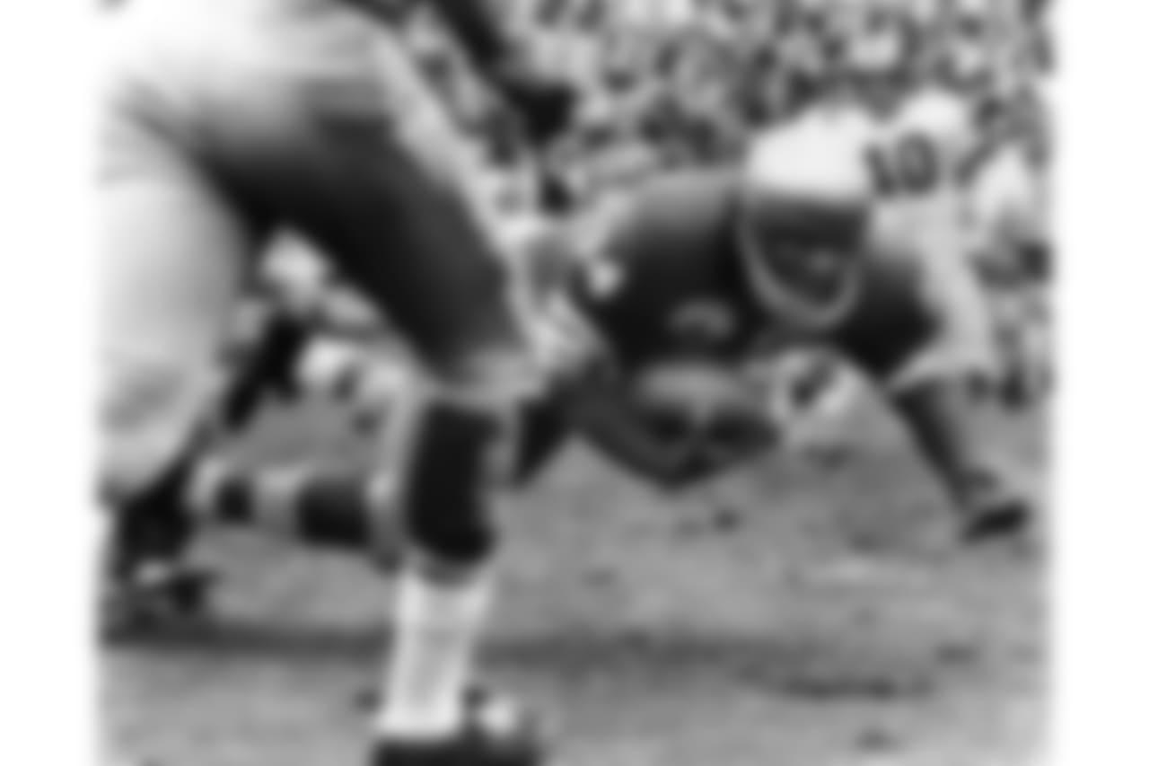 1950s -- 49ers running back Joe Perry.