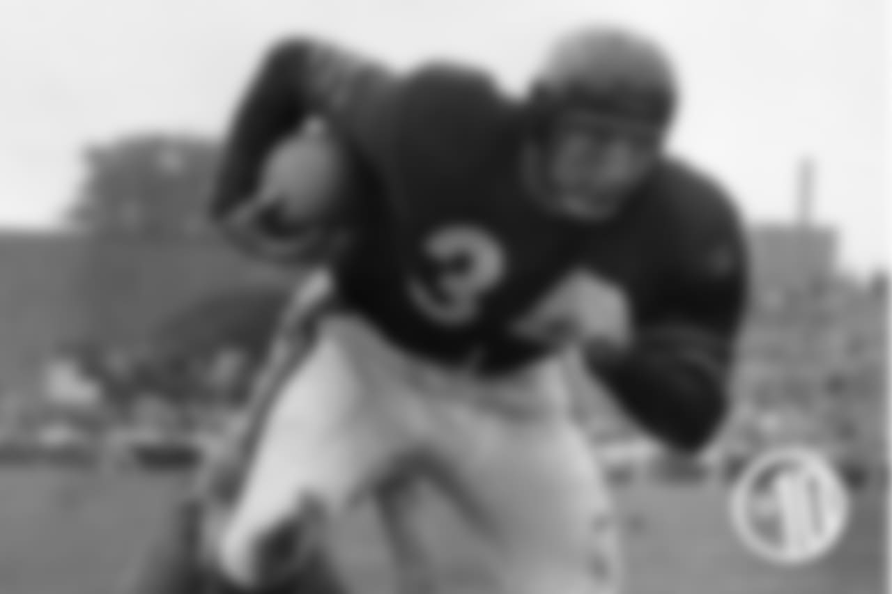 10. John Dottley, 1951 - 670 yards. Dottley averaged more than 5 yards per carry for the Bears in 1951, and was named to the Pro Bowl for his stellar play.