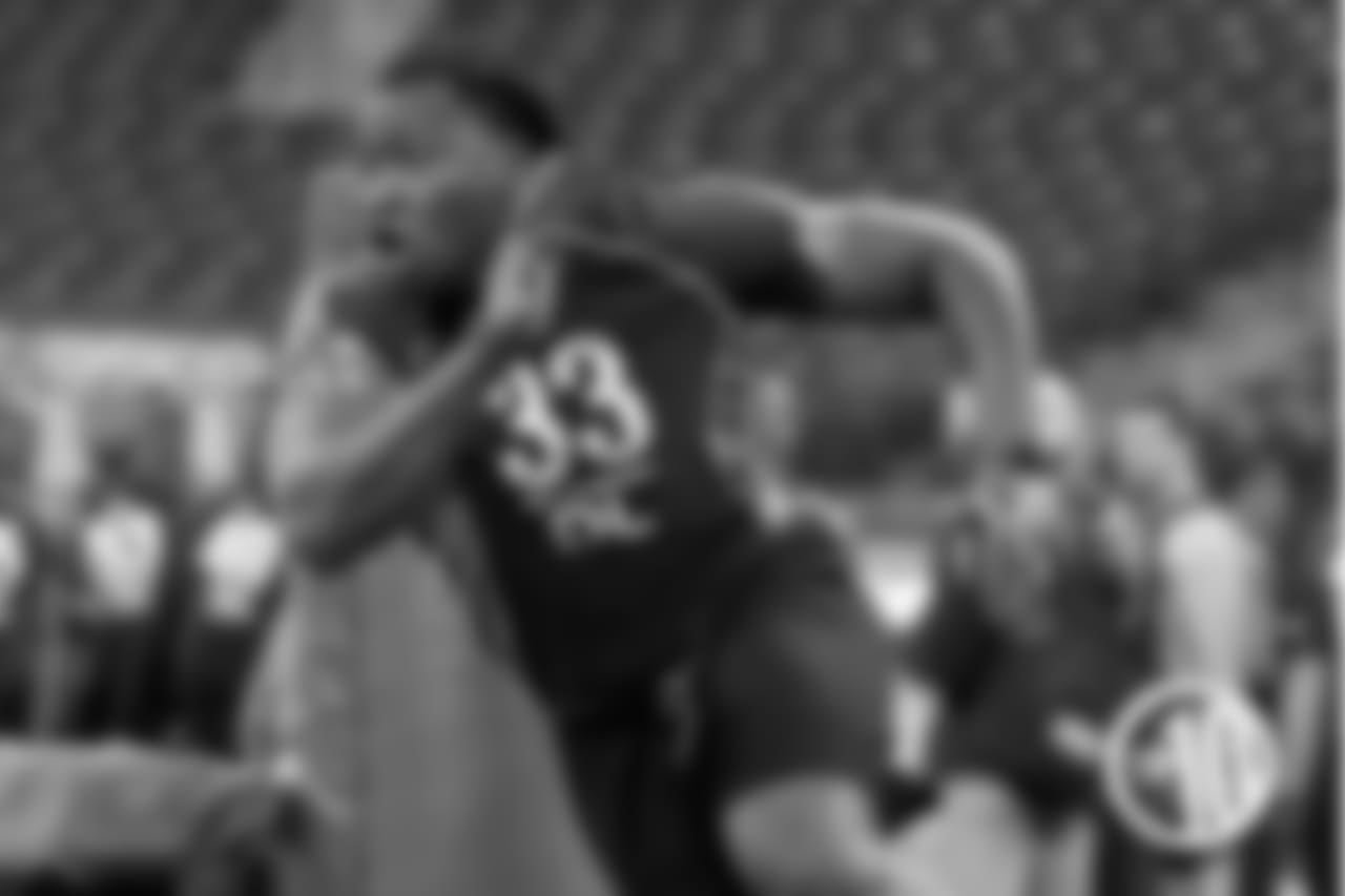 T-10. Pernell McPhee, 20 reps (2011)