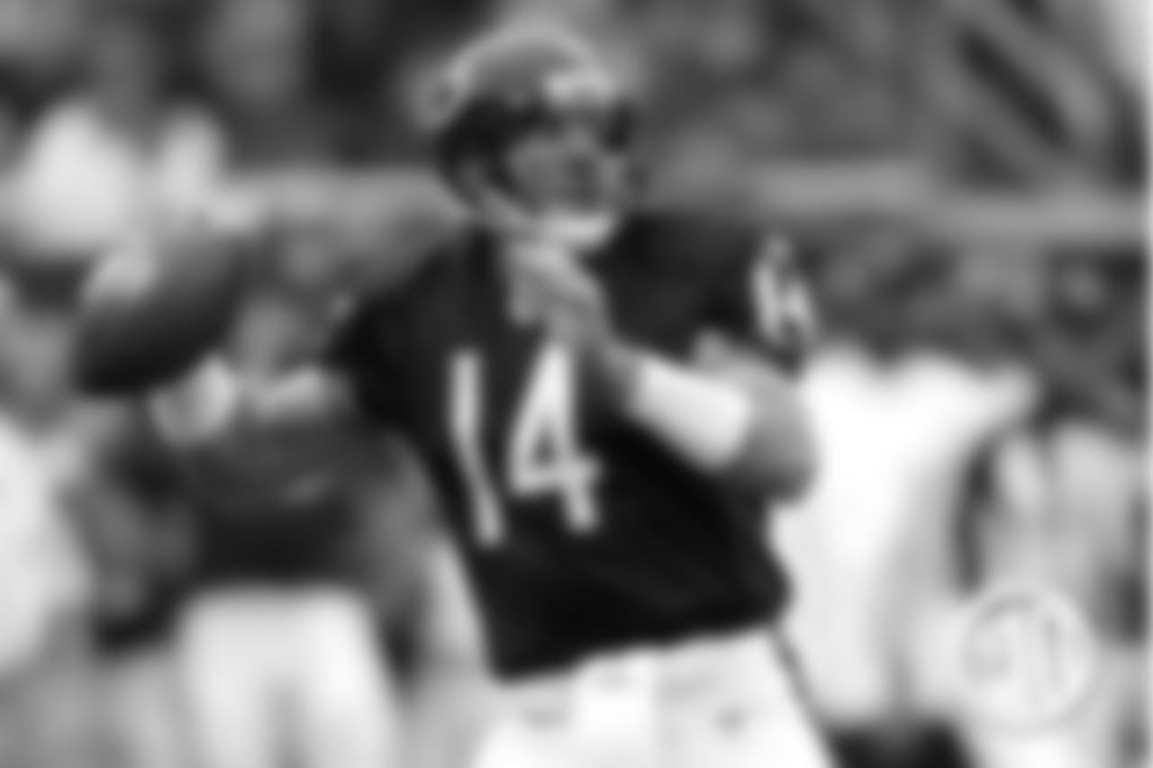 10. QB Brian Griese / Michigan 1993-1997, Bears 2006-2007. Griese won a national championship as the Wolverines' starting QB in 1997. He joined the Bears towards the end of his pro career, throwing 11 touchdowns over two seasons in Chicago.