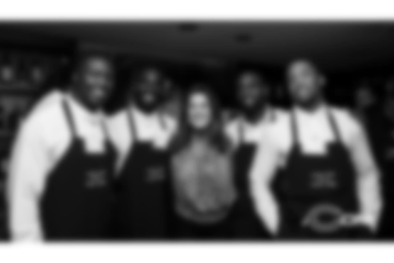 ILB Roquan Smith, CB Prince Amukamara, CB Sherrick McManis, CB Kyle Fuller