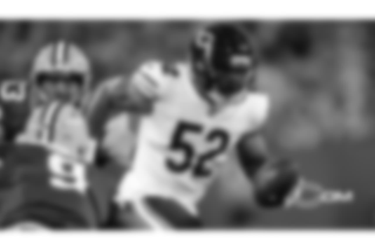 OLB Khalil Mack - September 2018  5 sacks, 14 tackles, 1 INT, 1 TD