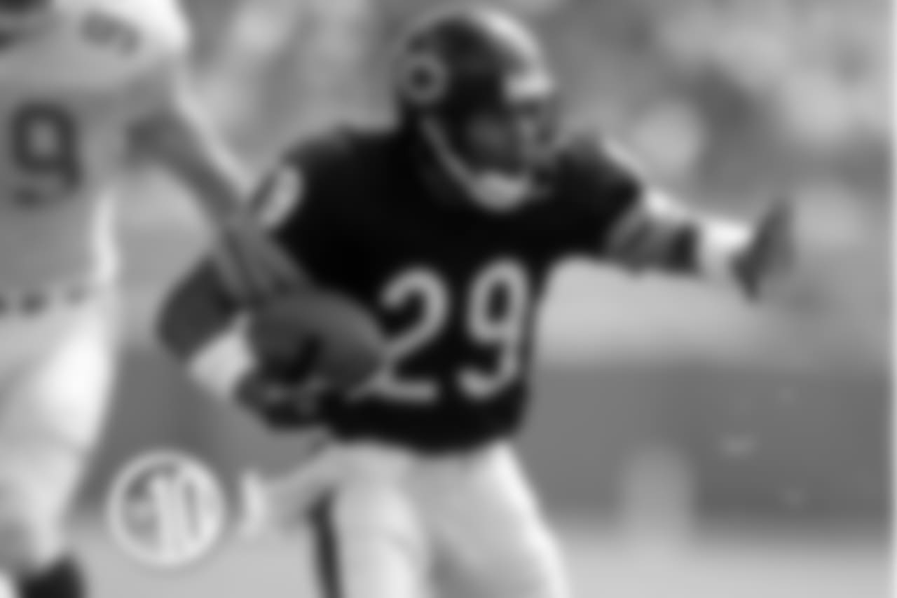 He only scored 12 career touchdowns, but Gentry had a reception of 30 yards or longer for the Bears for six consecutive seasons.