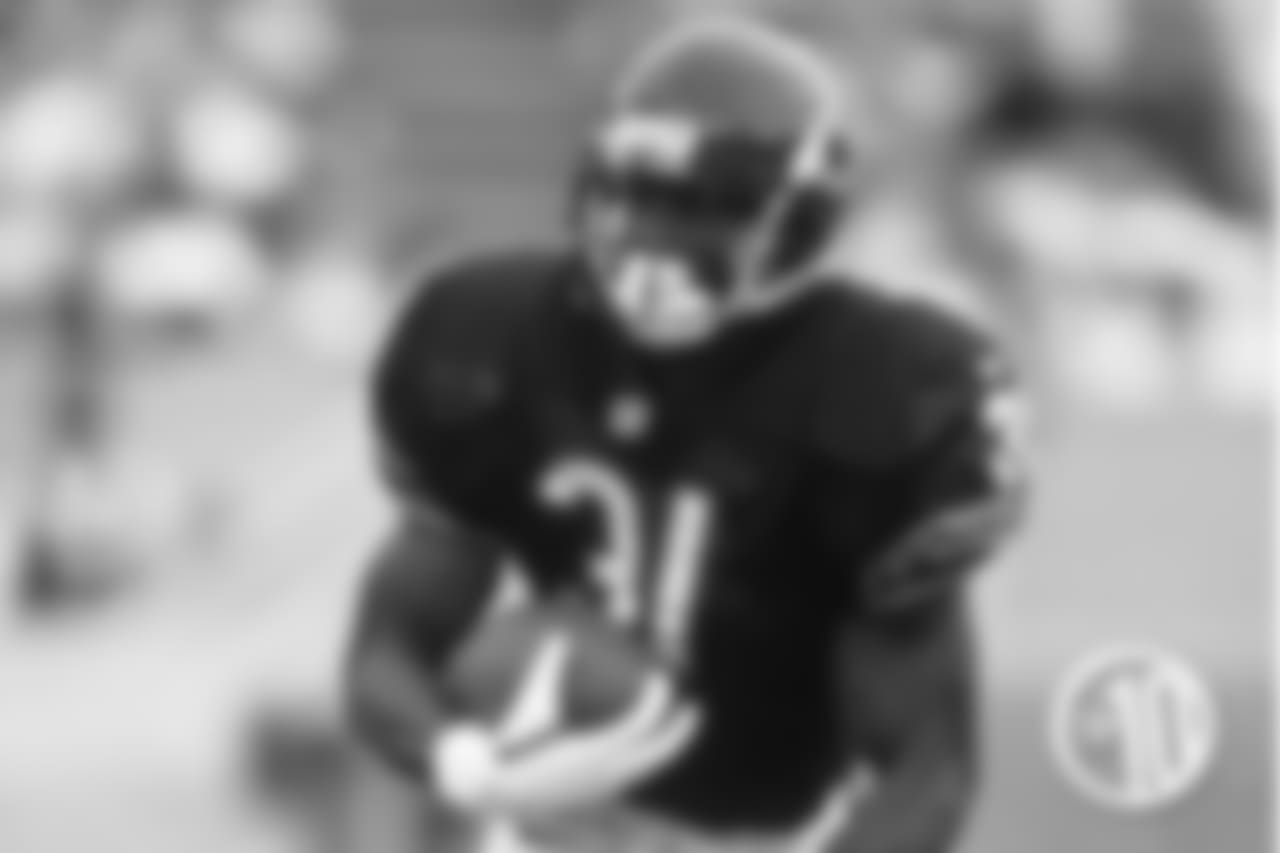 Salaam scored 3 times in 5 Monday night games between 1995 and 1997.