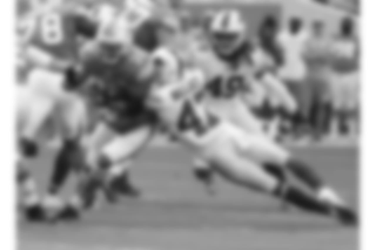 Buffalo Bills defensive back Levi Wallace (47)   Buffalo Bills at Miami Dolphins, December 2, 2018 at Hard Rock Stadium.  Photo by Bill Wippert